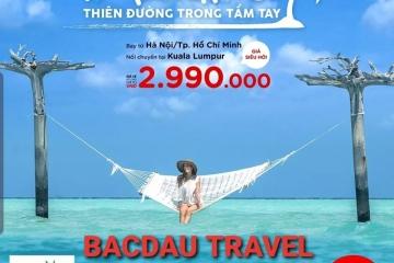 AirAsia siêu khuyến mại vé đi tới Maldives chỉ từ 2990K