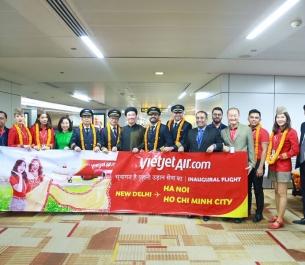 Vietjet khai trương 2 đường bay thẳng: Việt Nam - Ấn Độ