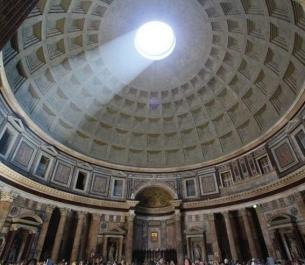 """Pantheon, ngôi đền của """"mọi vị Thần"""""""
