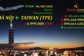 HANOI✈ TAIWAN (TPE)ngày 06/08/2020