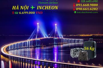 HANOI ✈ INCHEON (SEOUL) tháng 09/2020