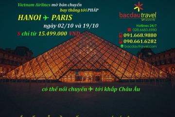 HÀ NỘI✈ PARIS ngày 02/10 và 19/10/2020