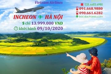 Về Vietnam với chuyến bay INCHEON ✈ HANOI09/10